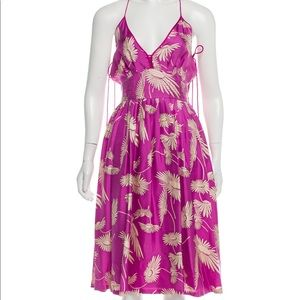 Marc Jacobs Collection Floral Silk Summer Dress 4